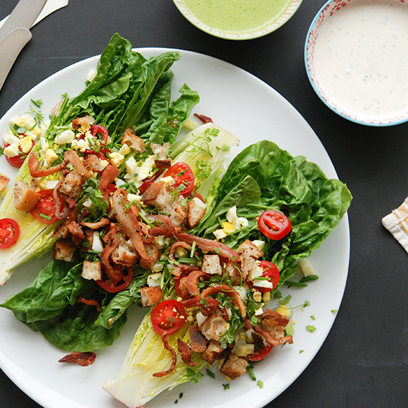Country Club Salad with Two Dressings