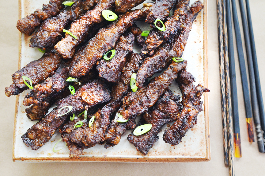 Crispy Garlic Short Ribs