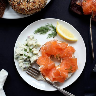 Cured salmon gravlax Cured salmon whole Cured salmon whole