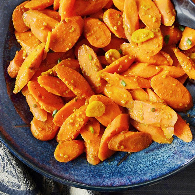 Curry-Carrots||Curry Glazed Carrots|Curry-Glazed Carrots