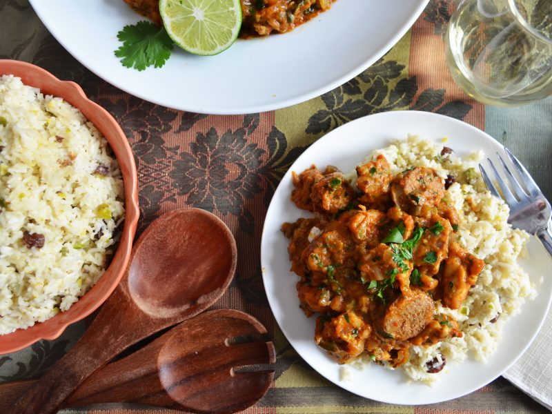 Creole Chicken with Plantation RIce|creole chicken|Creole Chicken & Rice