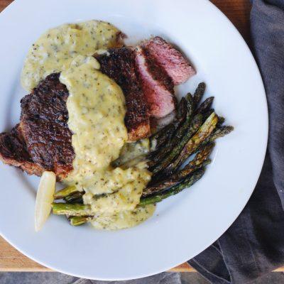 Andrew Zimmern's recipe for bearnaise sauce