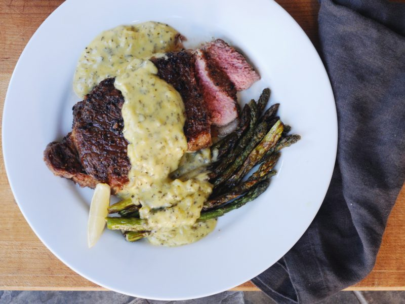 Andrew Zimmern's recipe for bearnaise sauce