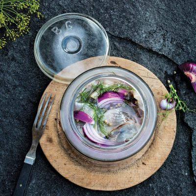 Dill Marinated Herring