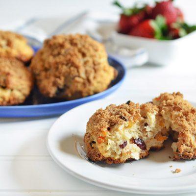 Drop Biscuit Scones|Drop Biscuit Scones