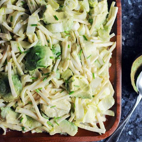 Endive, Celeriac & Avocado Salad