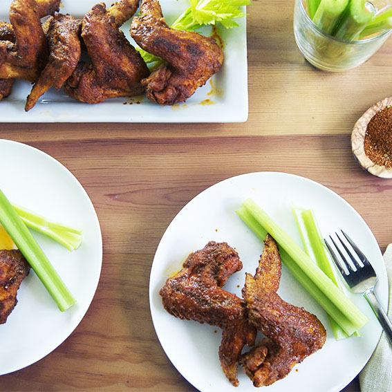 Flex Your Mex Chicken Wings