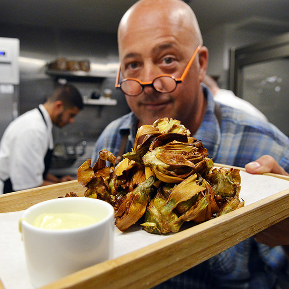 Fried Artichokes with Lemon Aioli