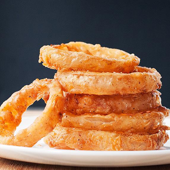 Andrew Zimmern's Buttermilk Fried Onion Rings