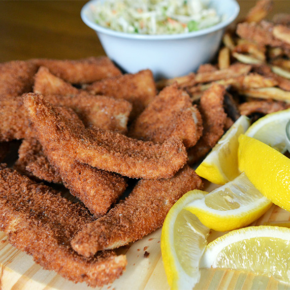 Fried Walleye