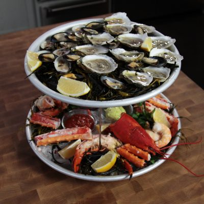 Andrew Zimmern's Seafood Platter recipe