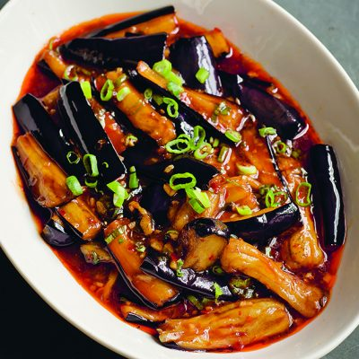Fuchsia Dunlop's Fish-Fragrant Eggplant