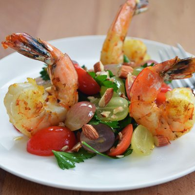 Grape Salad with Shrimp