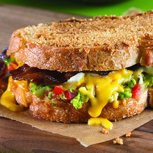 Chips & Guacamole Grilled Cheese