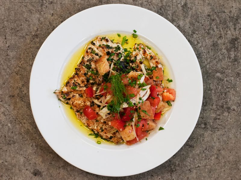 Andrew Zimmern's Grilled Chicken Paillarde