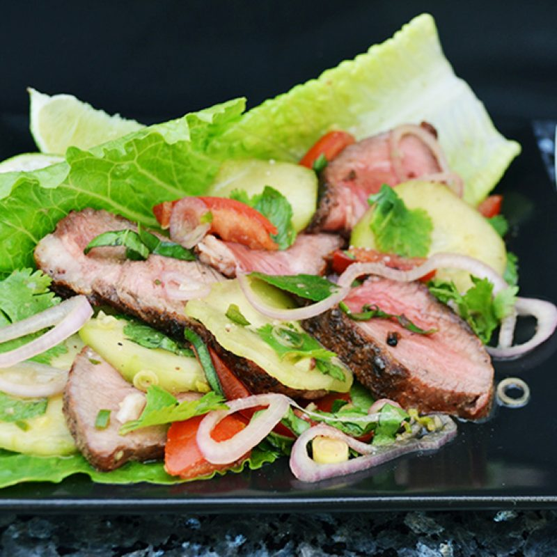 |Grilled Beef Salad|Grilled Beef Salad||