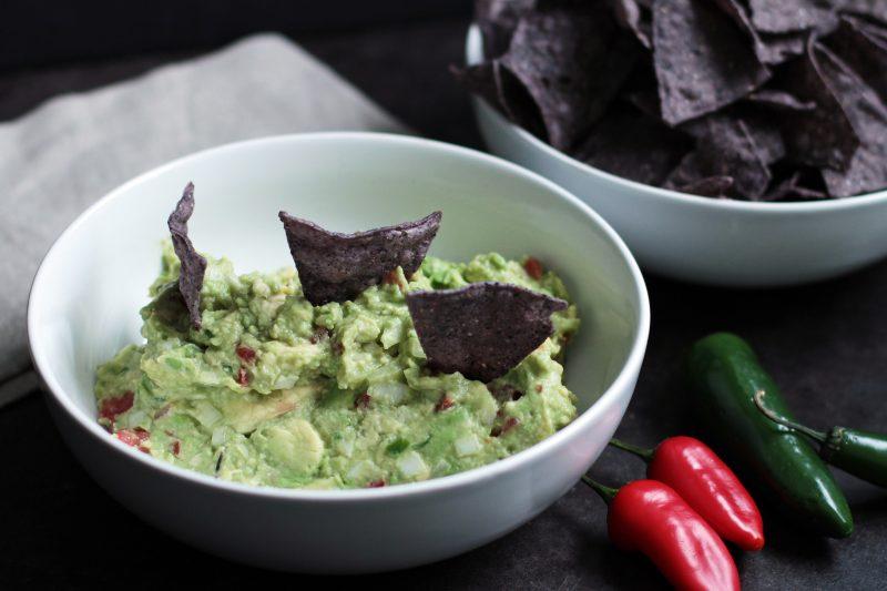 Andrew Zimmern's recipe for guacamole
