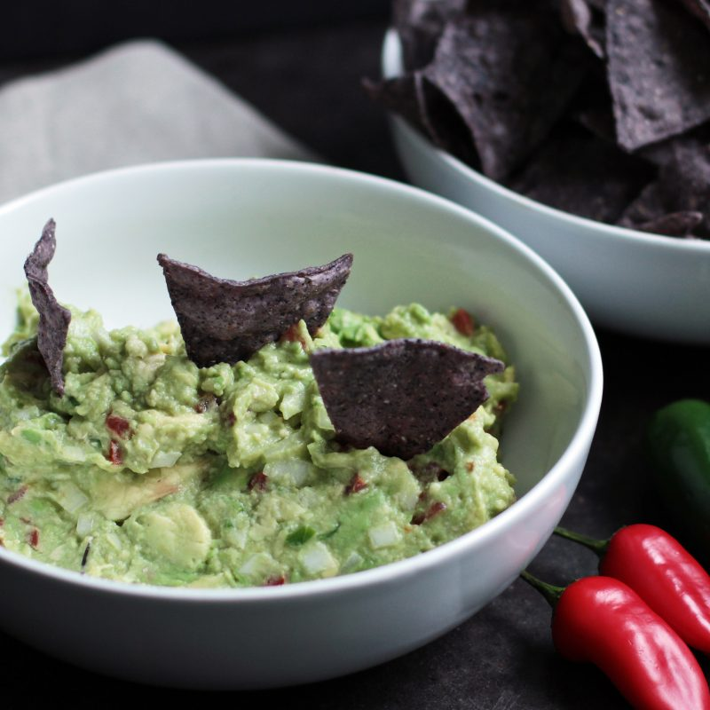 Andrew Zimmern's recipe for guacamole