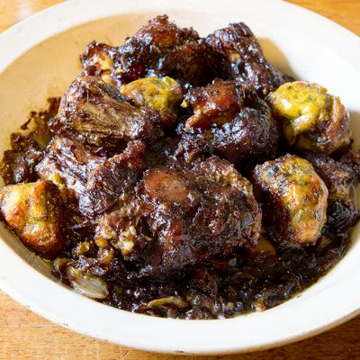 Oxtail with Bavarian Bread Dumplings|Oxtails with Bread Dumplings|Oxtail with Bavarian Bread Dumplings|Oxtail with Bavarian Bread Dumplings