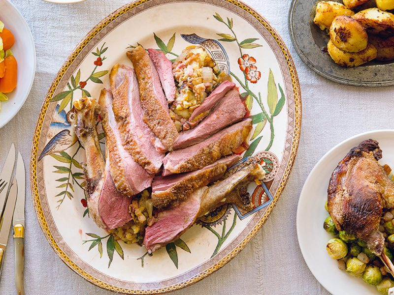 Roast Crown of Goose|Roasted Crown of Goose||Roast Crown of Goose|