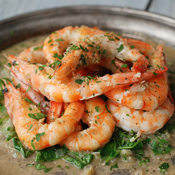 Hastings-Style Shrimp