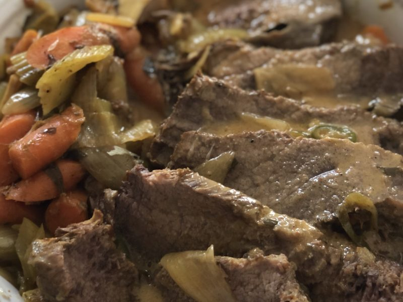 Curry Coconut Pot Roast
