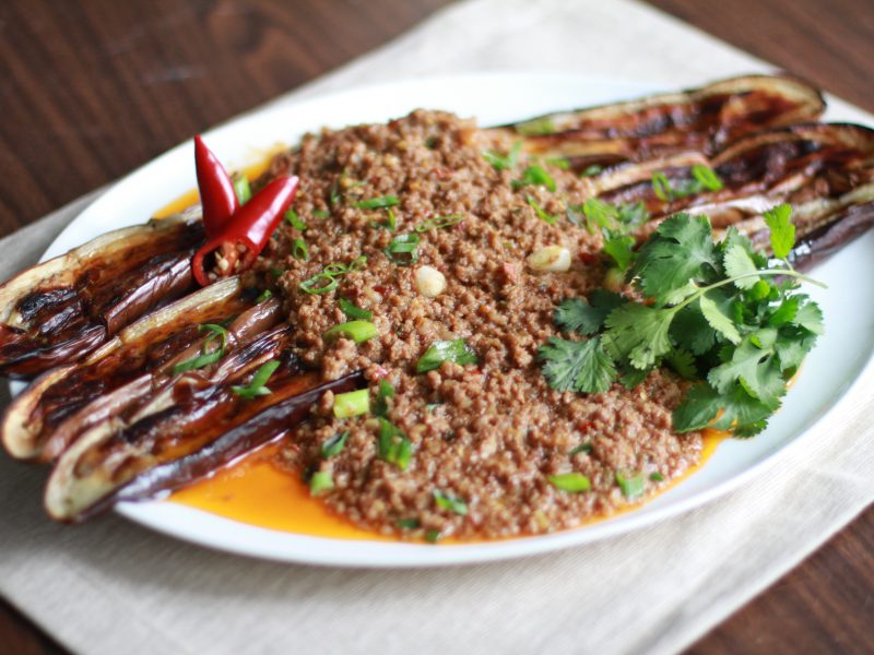 Andrew Zimmern's Ma Po Eggplant