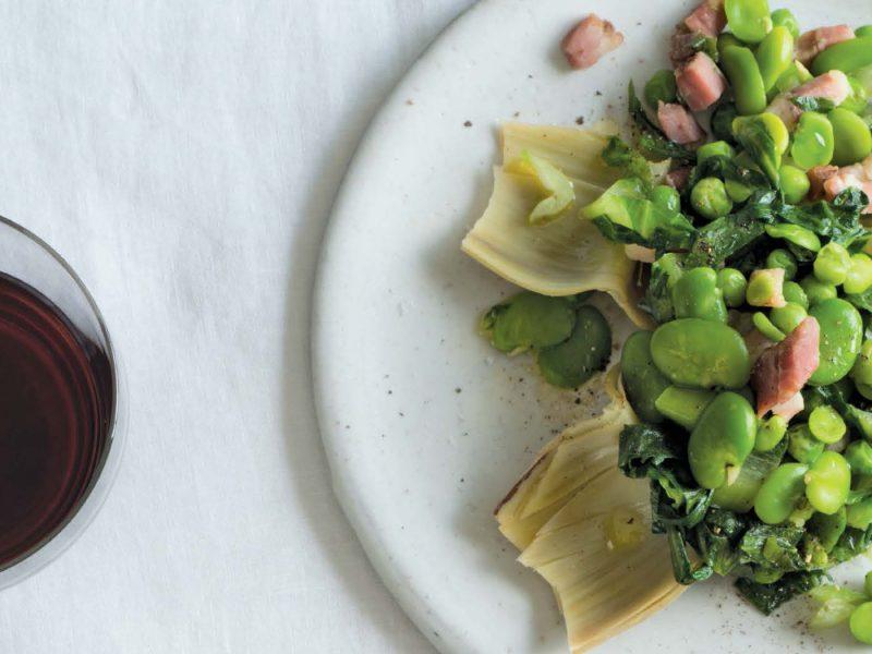 Katie Parla's Artichoke and Fava Bean