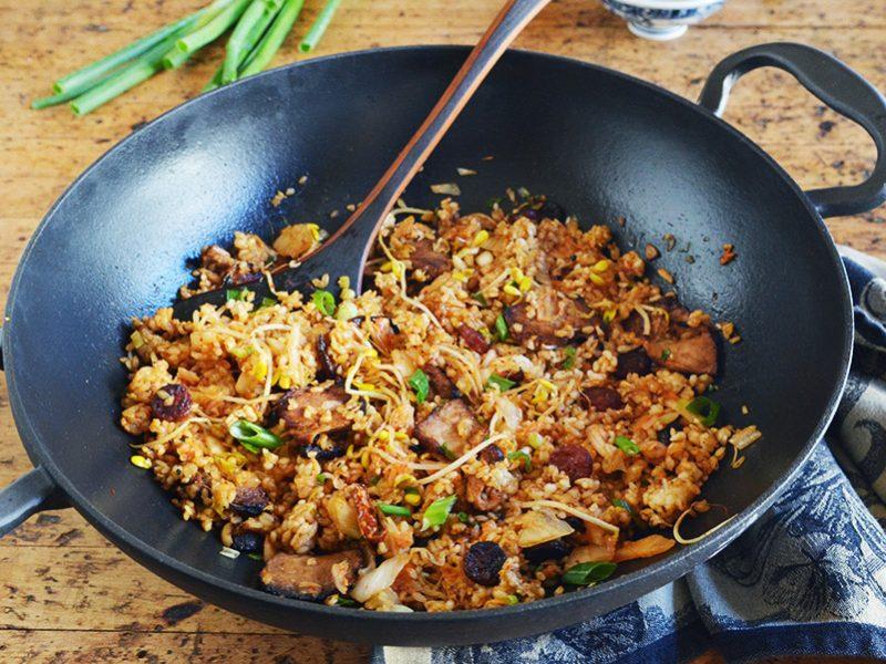 Kimchi Fried Rice|Kimchi Fried Rice
