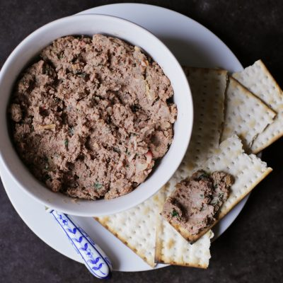 Andrew Zimmern's Recipe for Chopped Chicken Liver