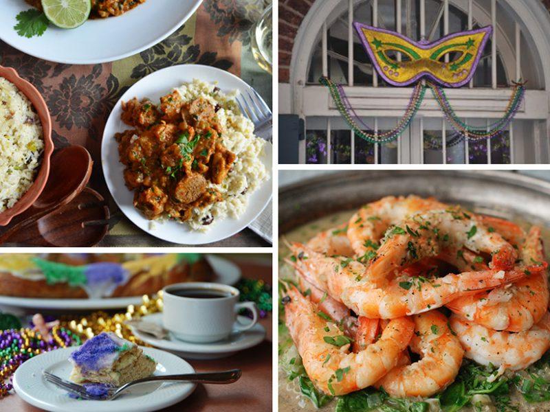Mardi Gras|Shrimp Étouffée|Andouille