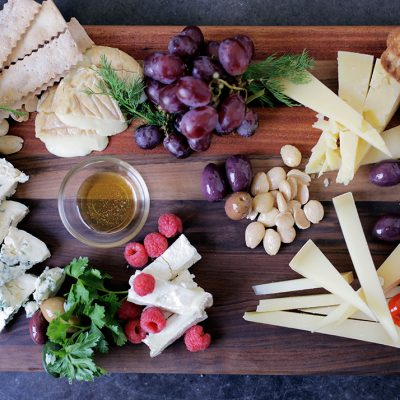 Matt Jennings' Cheese platter|