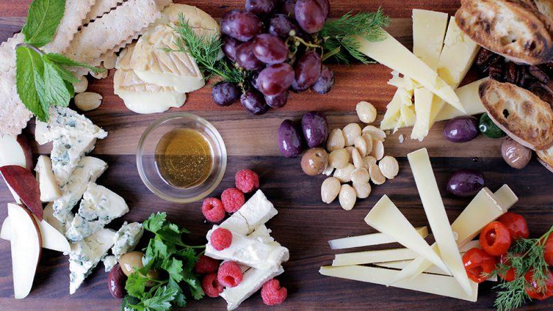 Matt Jennings' Cheese platter|