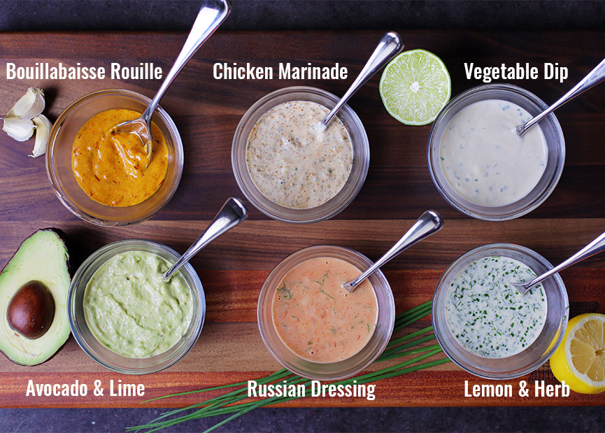 Andrew Zimmern's Recipes for Mayo Dips & Sauces