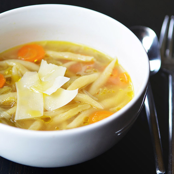 Menietti in Vegetable Soup