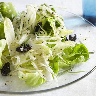 Butter Lettuce & Shaved Fennel Salad by Michelle Berstein