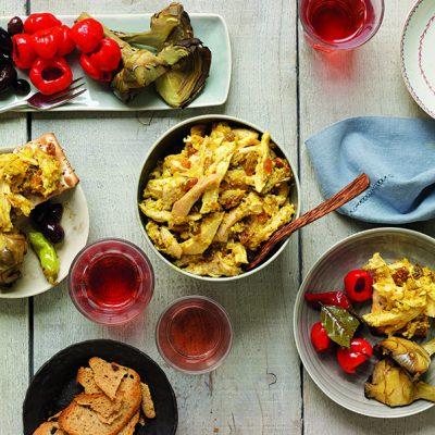 Mindy Fox - Curried Chicken Salad with Raisins