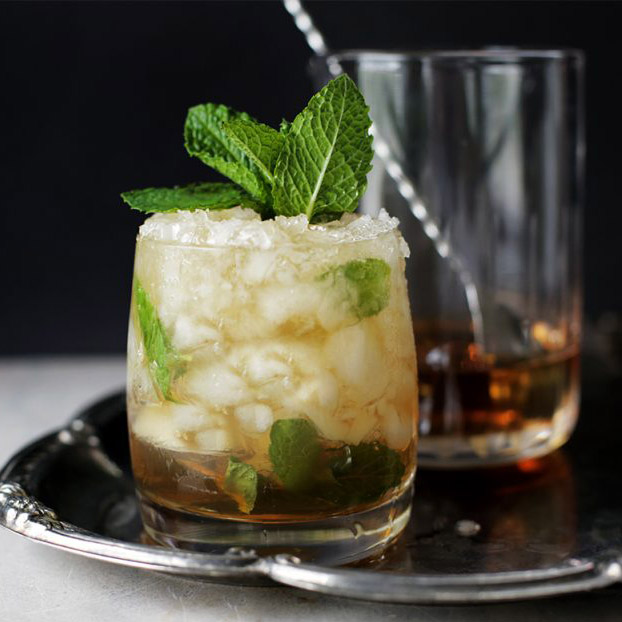 Andrew Zimmern's Mint Julep Recipe