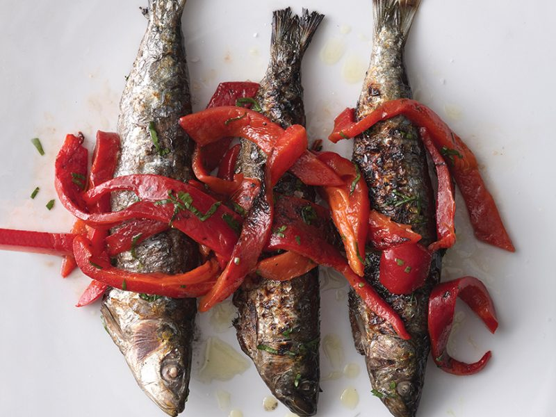 Grilled Sardines from My Portugal by George Mendes.|