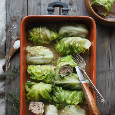 Nevada Berg Venison Cabbage Rolls|North Wild Kitchen