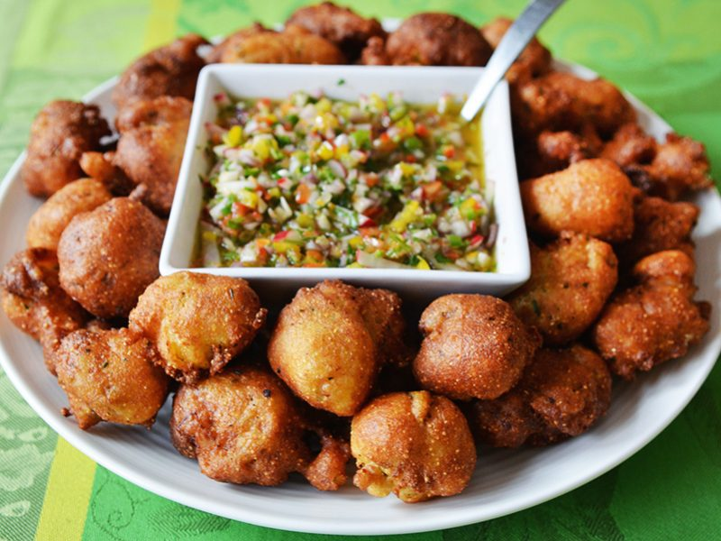 Oyster Hush Puppies