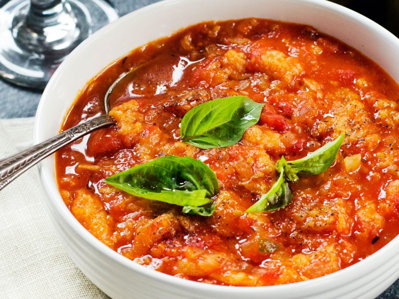 Andrew Zimmern's Tuscan Tomato Bread Soup