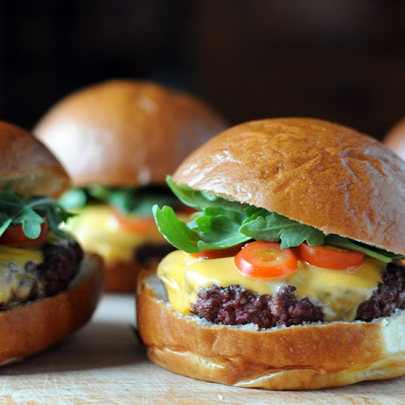 Burgers|Beef Cuts|Beef cut into strips|Grinding the meat|Ground meat|||Custom Blend Beef Burgers|