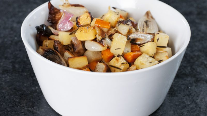 Andrew Zimmern's Recipe for Roasted Root Vegetables