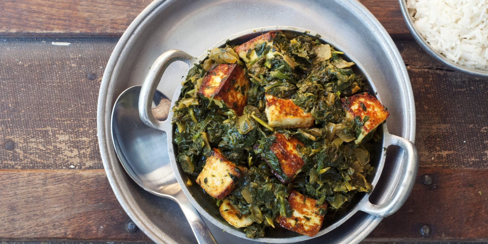 Traditional Saag Paneer Andrew Zimmern