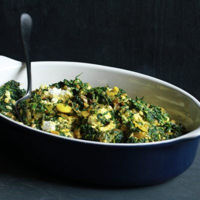 Andrew Zimmern's Recipe for Saag Paneer