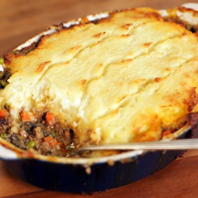 Andrew Zimmern's recipe for Shepherd's Pie