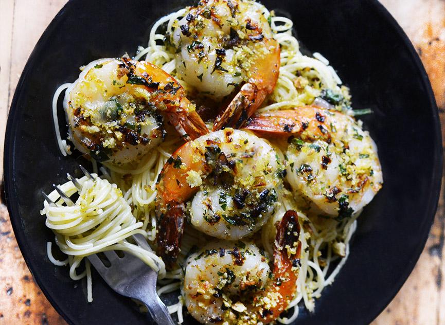 Shrimp Capellini