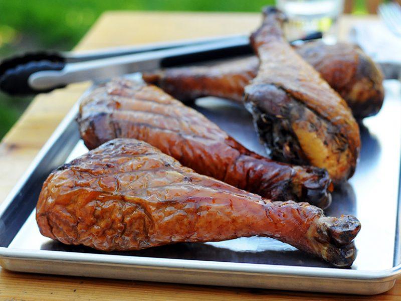 Smoked-Turkey-Legs|Chocolate Chip Cookies