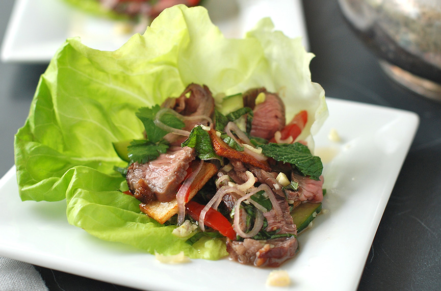 Thai-Style Spicy Beef Salad